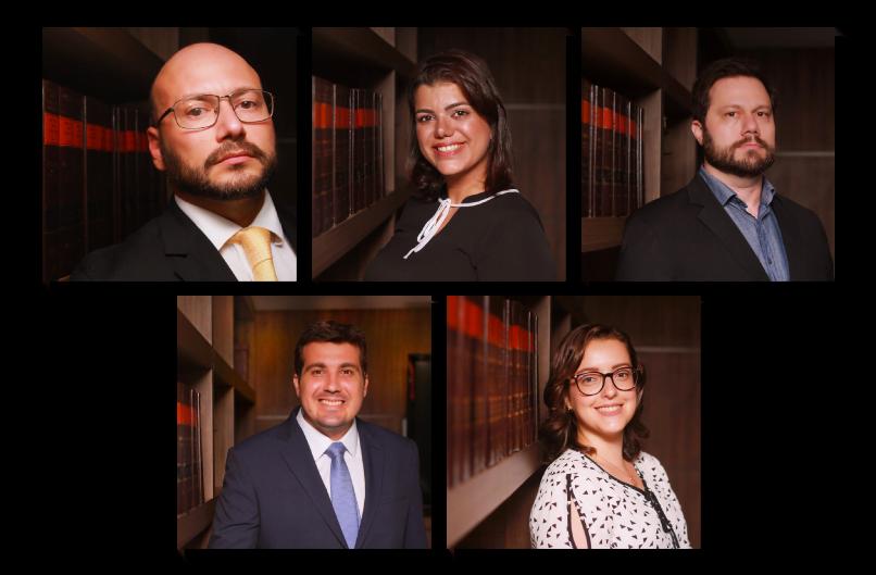 Equipe de advogados do escritório Cataldo Siston